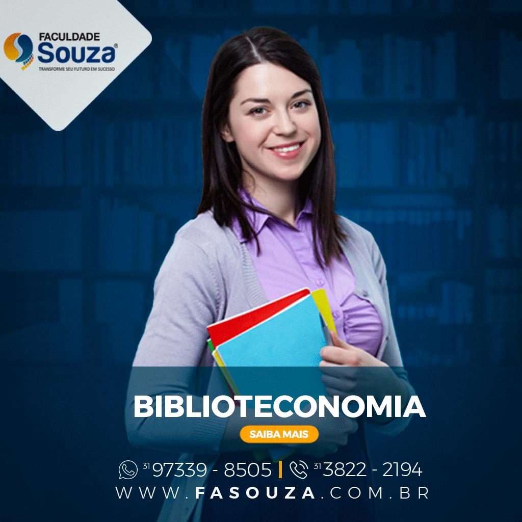 Pós-Graduação Biblioteconomia - Faculdade Souza - FaSouza