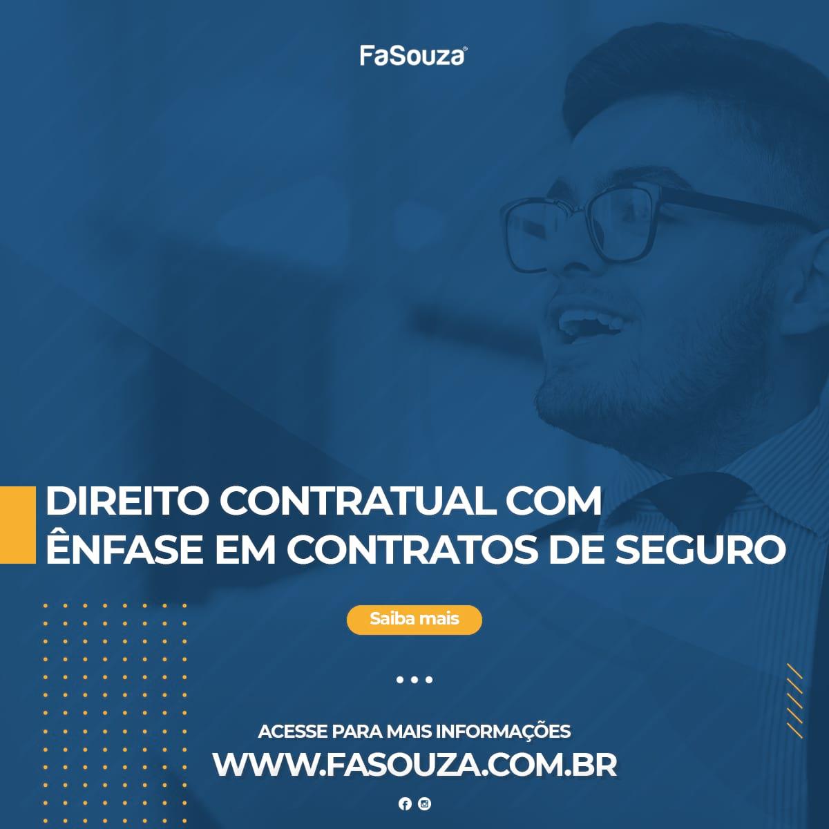 Faculdade Souza - Direito Contratual com Ênfase em Contratos de Seguros