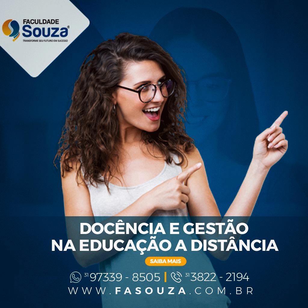 Faculdade Souza - Docência e Gestão na Educação à Distância
