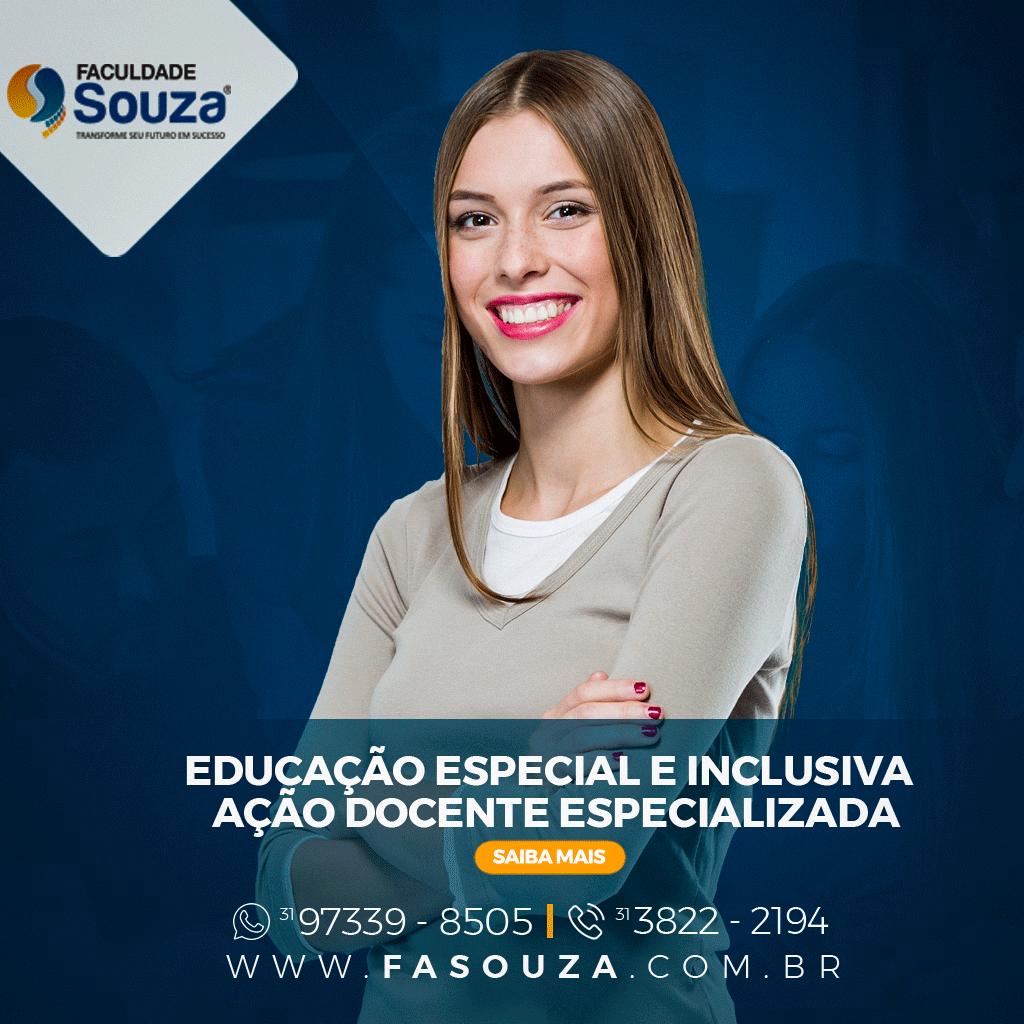 Faculdade Souza - Educação Especial e Inclusiva: Ação Docente Especializada
