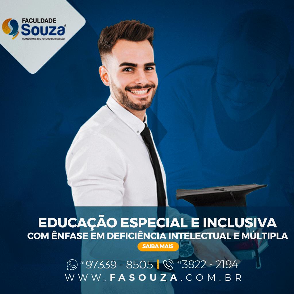 Faculdade FaSouza - Educação Especial e Inclusiva com ênfase em Deficiência Intelectual e Multipla