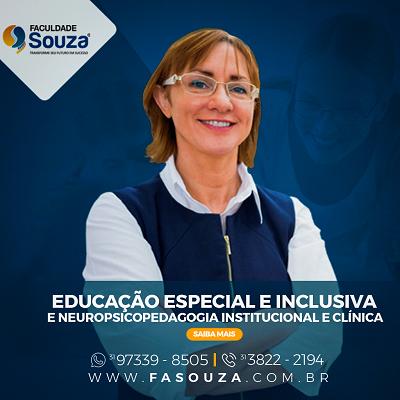 Faculdade Souza - Educação Especial e Inclusiva e Neuropsicopedagogia Institucional e Clínica