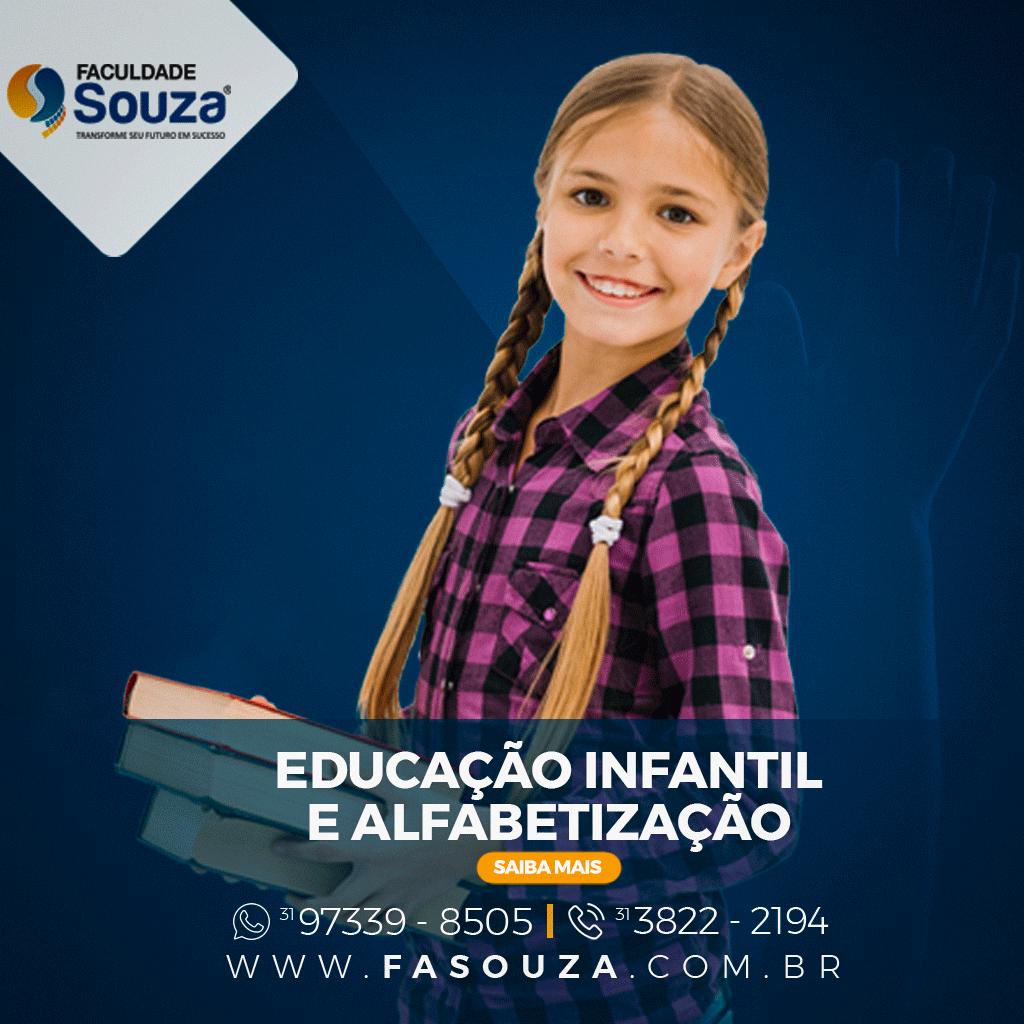Faculdade FaSouza - EDUCAÇÃO INFANTIL E ALFABETIZAÇÃO