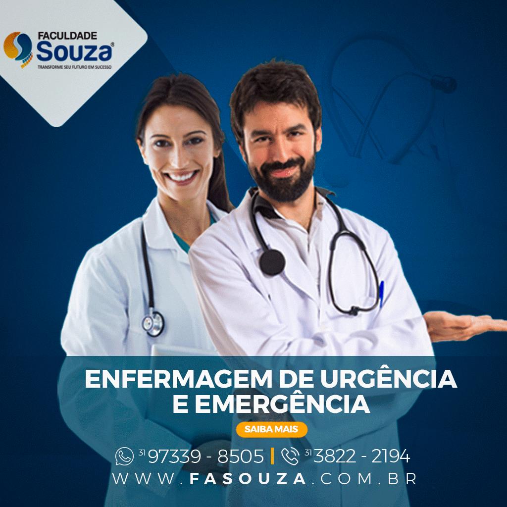 PÓS-GRADUAÇÃO EM ENFERMAGEM DE URGÊNCIA E EMERGÊNCIA - INSTITUTO SOUZA