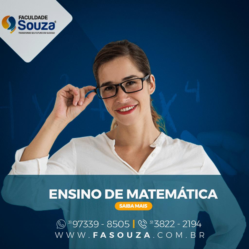 Faculdade Souza - Ensino de Matemática
