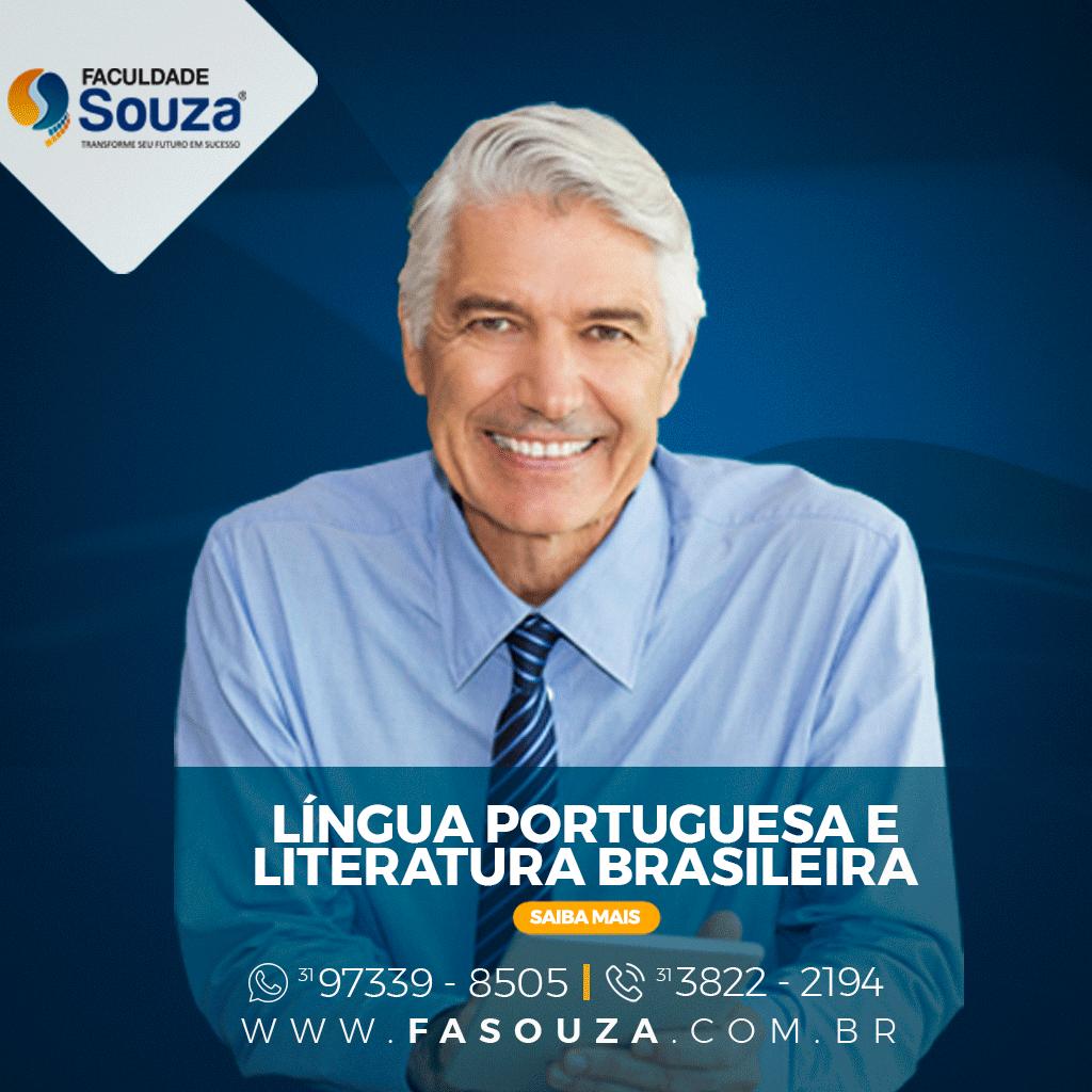 Faculdade FaSouza - LÍNGUA PORTUGUESA E LITERATURA BRASILEIRA