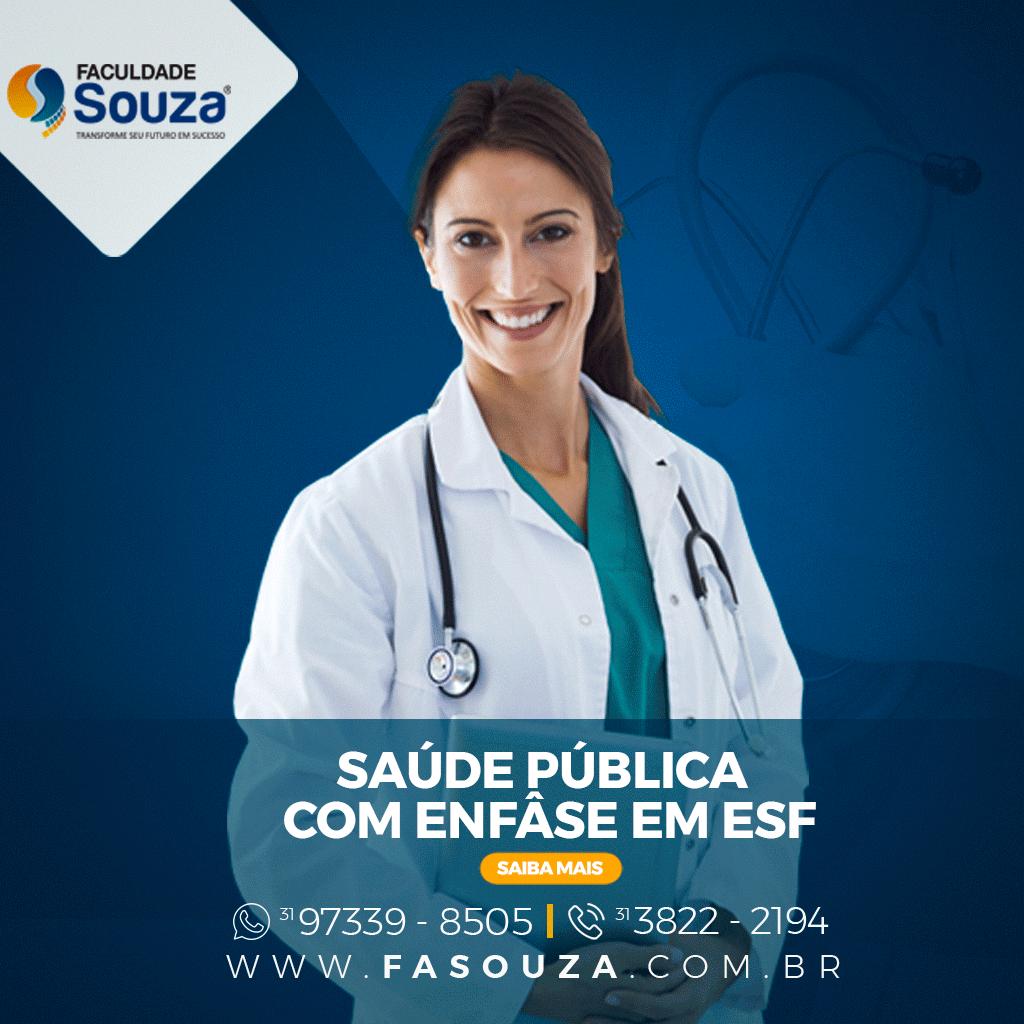 Faculdade Souza - Saúde Pública com Ênfase em ESF