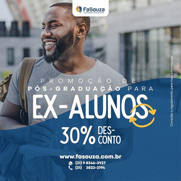 DESCONTO DE PÓS-GRADUAÇÃO PARA EX-ALUNOS