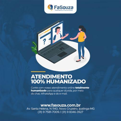 FaSouza conta com suporte online 100% humanizado