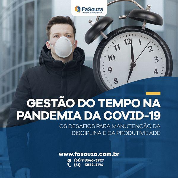 Gestão do tempo na pandemia da Covid-19