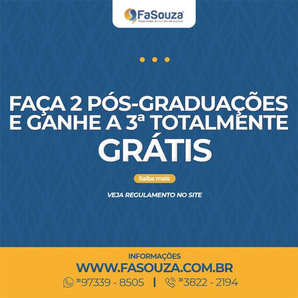 Pós-graduação gratuita - Faça 2 Pós-Graduações e Ganhe a Terceira
